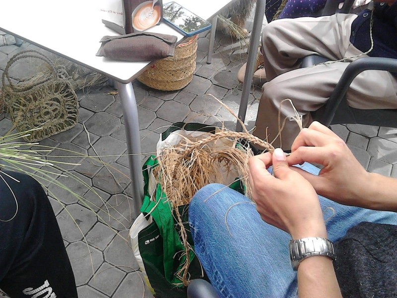 Sunday 3rd March come and learn to weave esparto grass in Jumilla