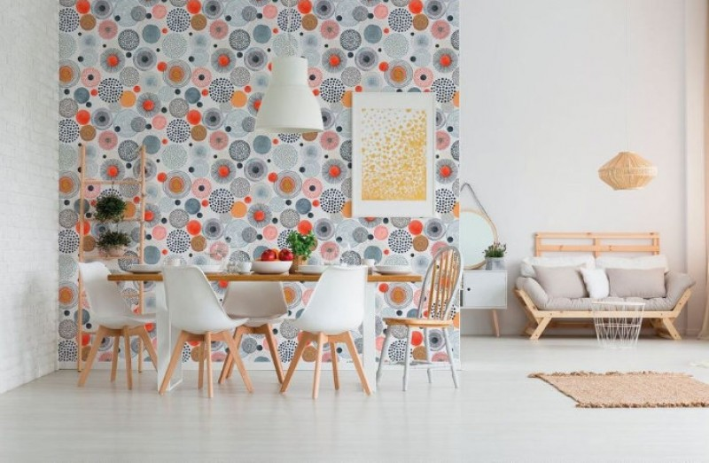 23rd February, wallpaper decoration workshop at Leroy Merlin stores in Murcia and Cartagena
