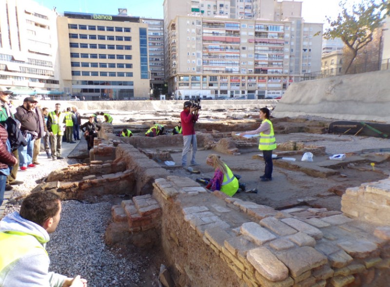 Until 31st March, San Esteban excavation exhibition at the Town Hall of Murcia