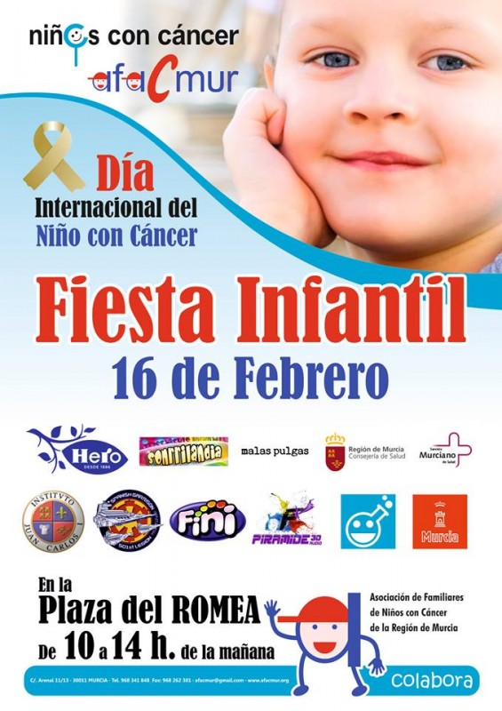16th February Murcia Children's cancer association fun day in Murcia