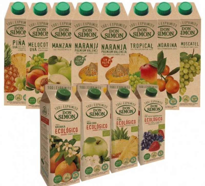 Don Simón launch fully recyclable fruit juice cartons