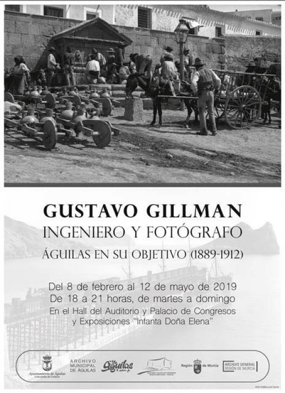 Gustavo Gillman: engineer and photographer in the Águilas Auditorium