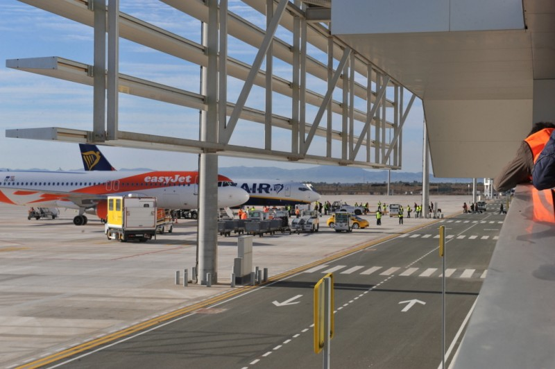 Murcia airport passenger numbers down by 8 per cent as flights switch from San Javier to Corvera