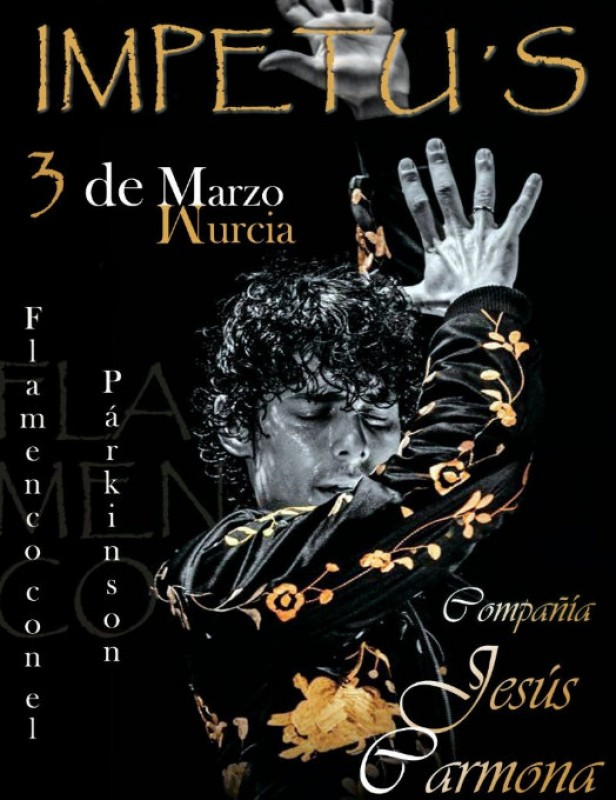 3rd March, Impetu's charity flamenco spectacular at the Auditorio Víctor Villegas in Murcia