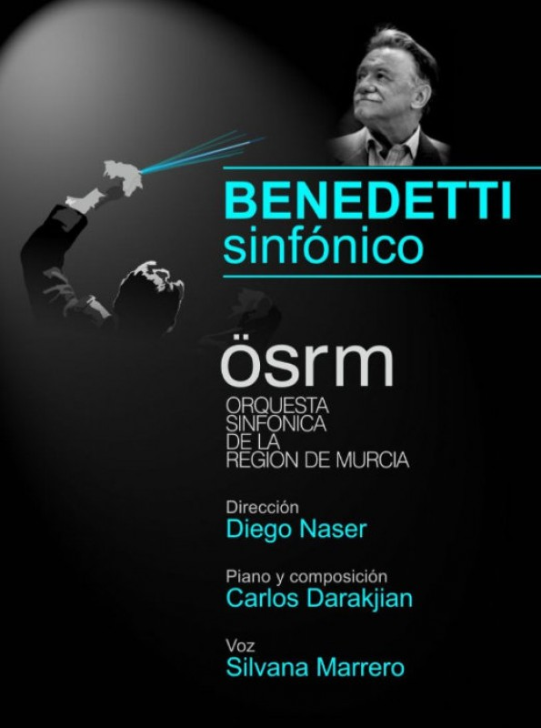 <span style='color:#780948'>ARCHIVED</span> - 11th October, Benedetti Sinfónico at the Auditorio Víctor Villegas in Murcia