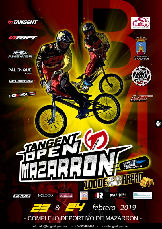 <span style='color:#780948'>ARCHIVED</span> - 23rd and 24th February, top BMX bike action in Mazarron