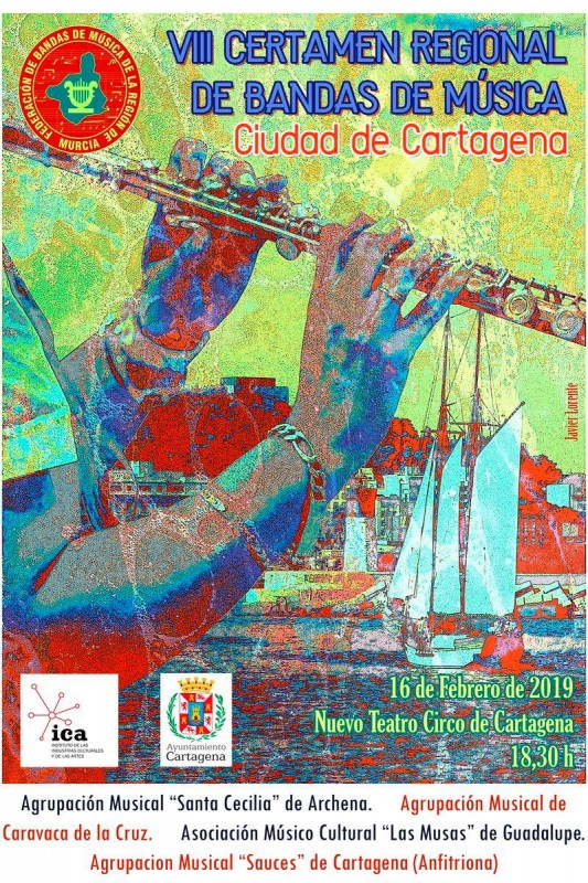 <span style='color:#780948'>ARCHIVED</span> - 16th February Free entry bands concert in Cartagena