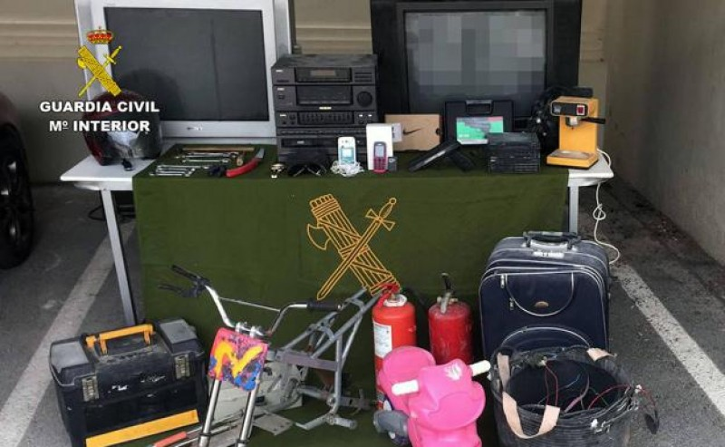 Four arrested after 9 burglaries at rural properties in Mula
