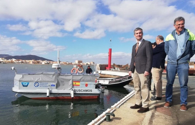 Drone boats to patrol and monitor marine reserves and fish farms in Murcia