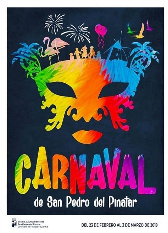 1st to 3rd March Carnival in San Pedro del Pinatar