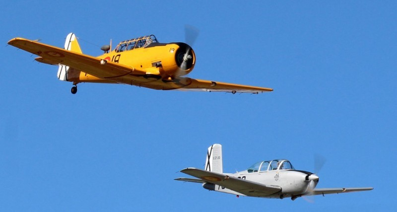 Aviation museum and air displays for the old airport terminal building of San Javier