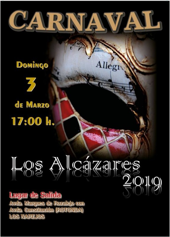 <span style='color:#780948'>ARCHIVED</span> - 3rd March Carnival in Los Alcázares
