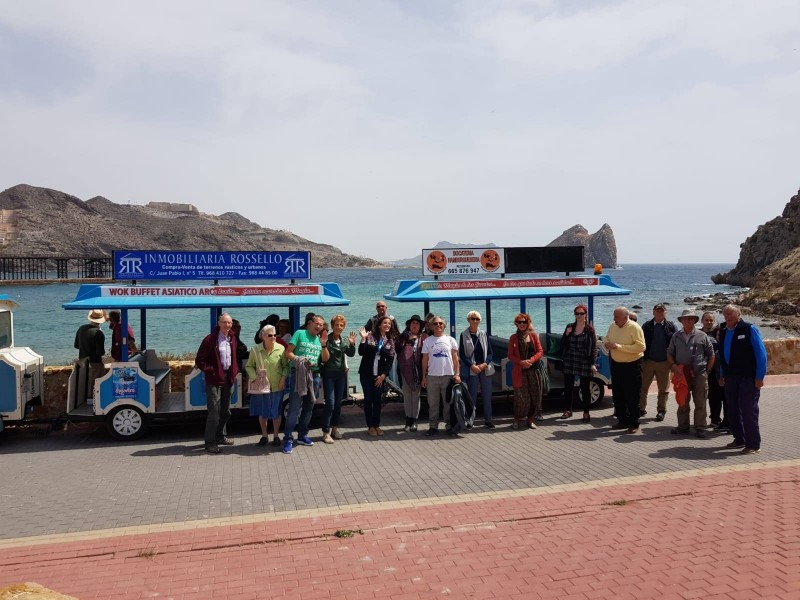 16th March Águilas: FREE ENGLISH language guided route of the railways tour