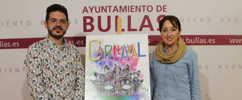 <span style='color:#780948'>ARCHIVED</span> - 2nd to 5th March Carnival in Bullas