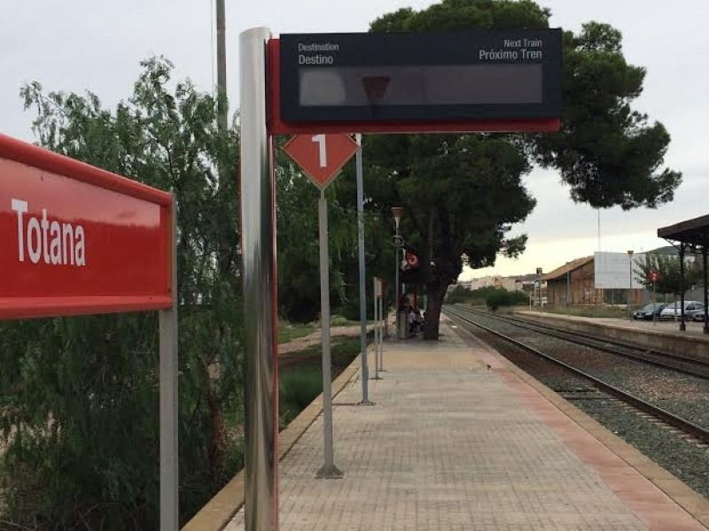 <span style='color:#780948'>ARCHIVED</span> - Rail services from Murcia to Lorca and Águilas suspended for five days more