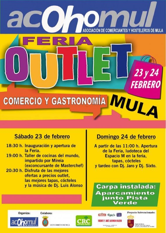 <span style='color:#780948'>ARCHIVED</span> - 23rd and 24th February Mula Outlet Fair
