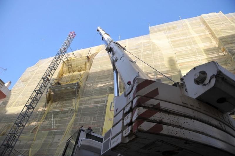 <span style='color:#780948'>ARCHIVED</span> - Major restoration process continues on Santa Maria de Gracia in Cartagena