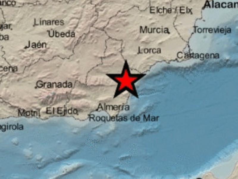 <span style='color:#780948'>ARCHIVED</span> - Residents of eastern Almería alarmed by 3.5 mbLg earthquake
