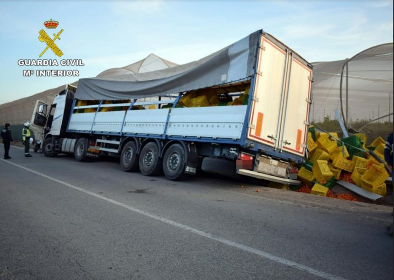 <span style='color:#780948'>ARCHIVED</span> - HGV driver arrested in San Pedro del Pinatar 6 times over the alcohol limit