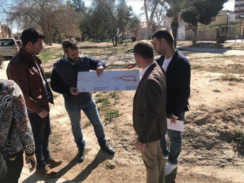 <span style='color:#780948'>ARCHIVED</span> - Dog-friendly park to be created in the centre of Torre Pacheco