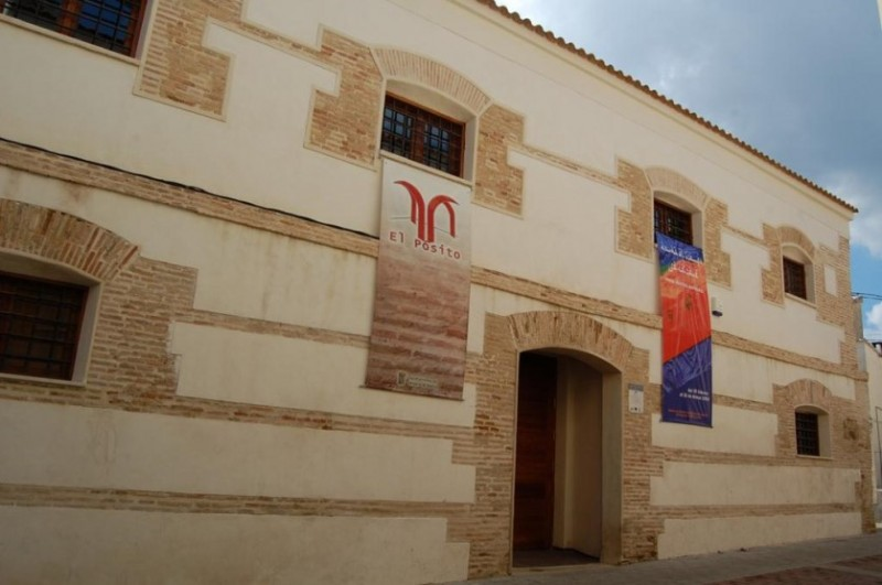 Pósito Municipal exhibition space in Alhama de Murcia