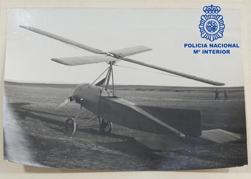 <span style='color:#780948'>ARCHIVED</span> - Documents recovered relating to the autogyro, after whose inventor Corvera airport is to be named
