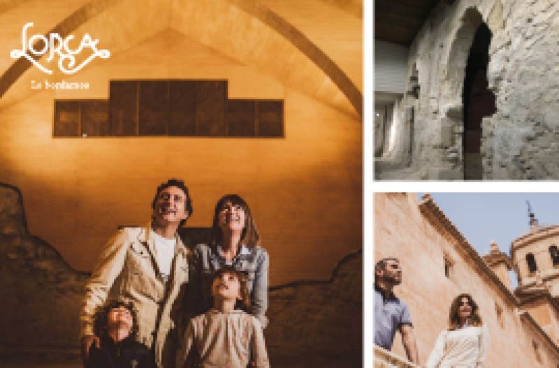 21st April : a full day in Lorca for 10€ exploring its Jewish, Moorish and Christian roots