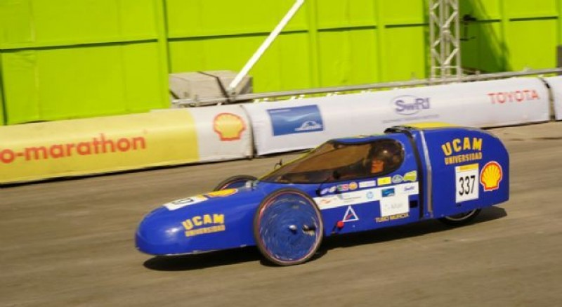 Murcia university team attempts to push fuel efficiency to over 1500 km per litre