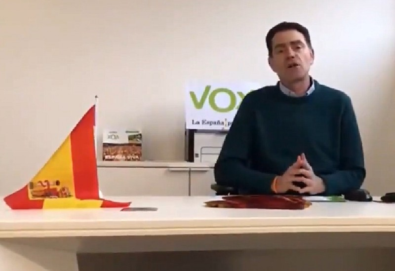 Far-right party Vox denies that alleged sex criminal was its leader in Lleida