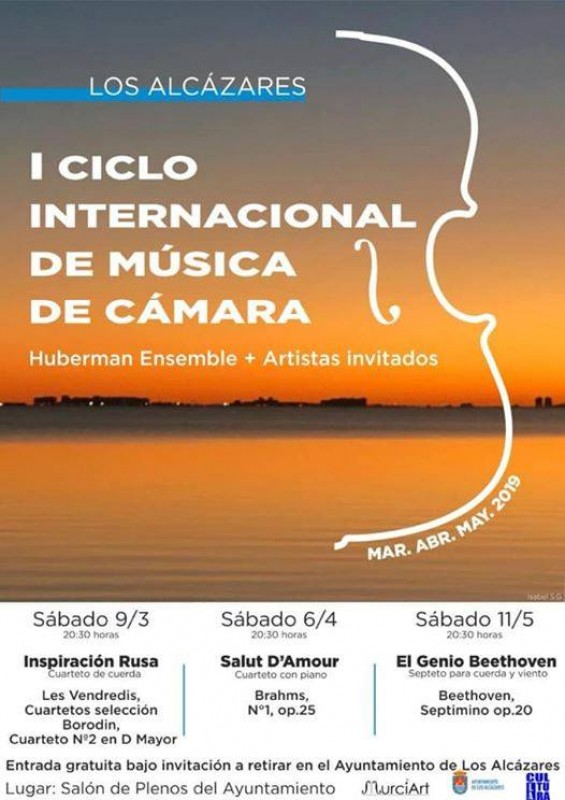 <span style='color:#780948'>ARCHIVED</span> - Saturday 6th April Free Chamber music in Los Alcázares