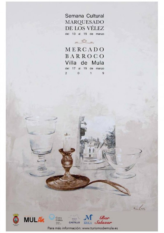 <span style='color:#780948'>ARCHIVED</span> - 17th to 19th March 2019 Baroque market in Mula