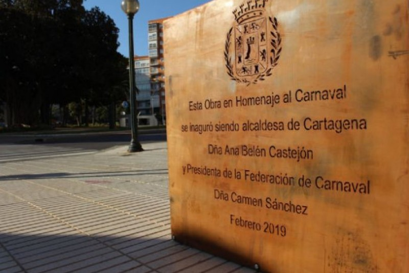 Embarrassing spelling errors on new Cartagena monument