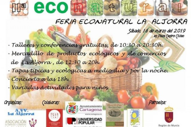 <span style='color:#780948'>ARCHIVED</span> - Saturday 16th March II Feria Econatural in La Aljorra