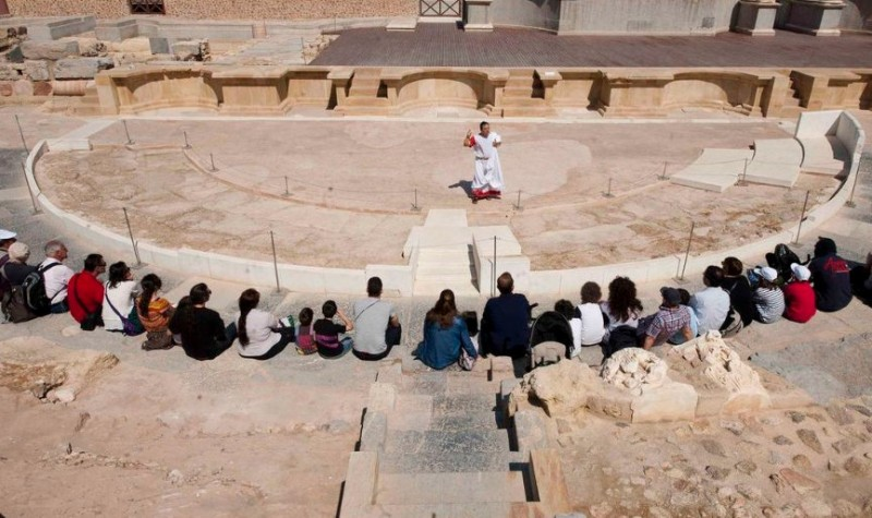 <span style='color:#780948'>ARCHIVED</span> - 16th to 19th March, special holiday weekend activities at the Roman Theatre museum in Cartagena