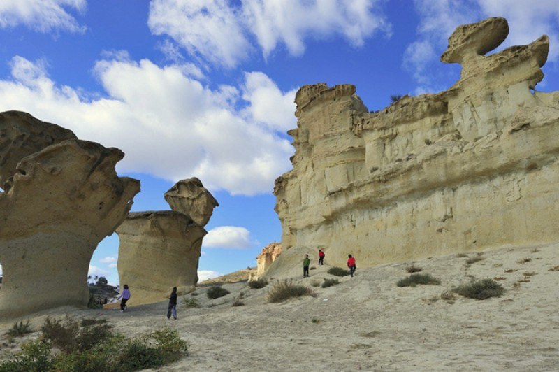 The wind-sculpted rocks of Bolnuevo gain Natural Monument status