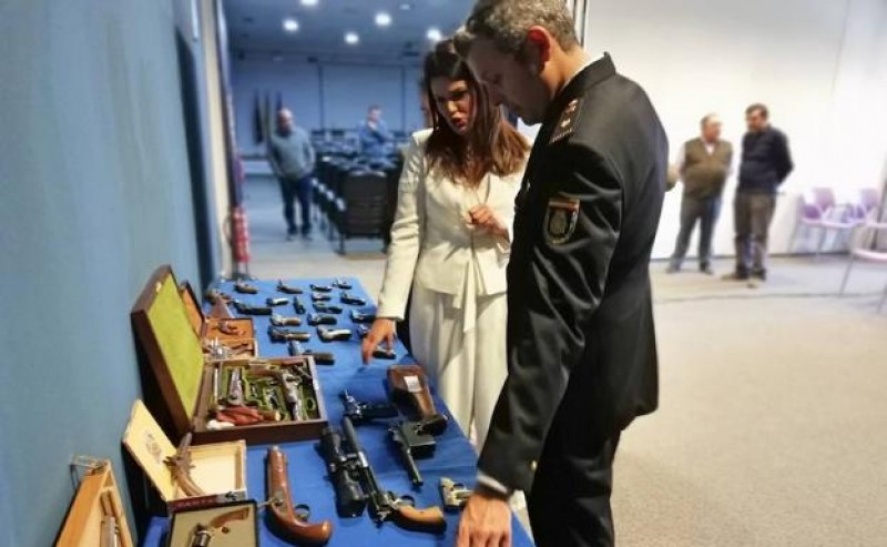 <span style='color:#780948'>ARCHIVED</span> - Historic firearms confiscated in Murcia