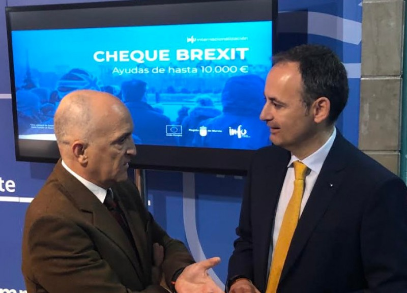 <span style='color:#780948'>ARCHIVED</span> - Applications invited for 10,000-euro Brexit cheques to help exporting companies in Murcia