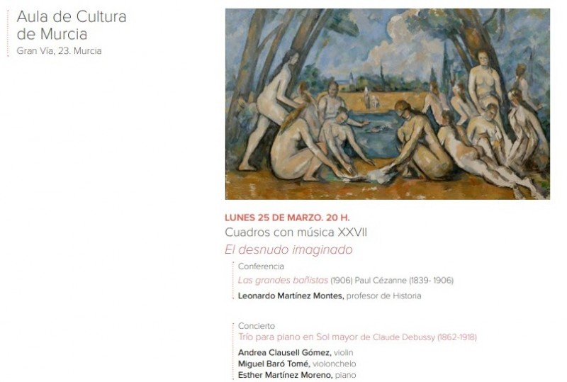 <span style='color:#780948'>ARCHIVED</span> - Monday 25th March Free entry musical cultural talk in Murcia City