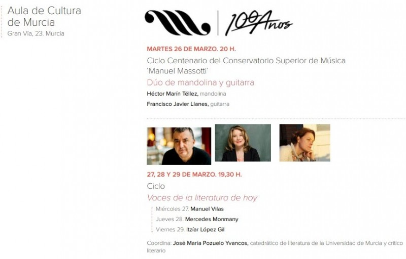 <span style='color:#780948'>ARCHIVED</span> - Tuesday 26th March Free entry classical concert in Murcia City