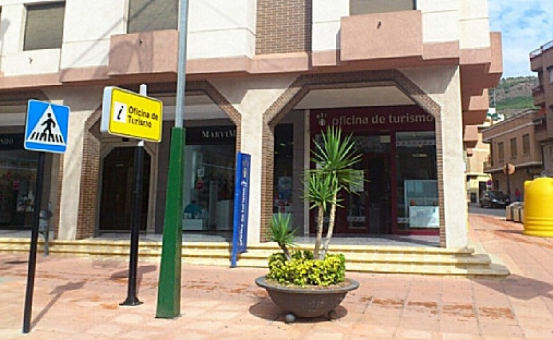 The tourist office of Alhama de Murcia