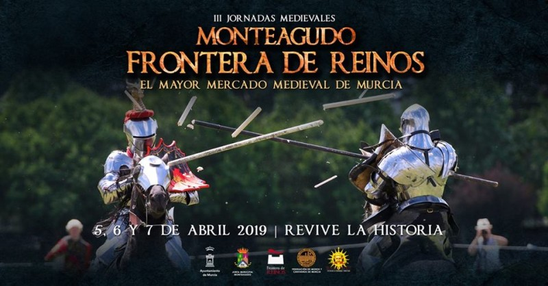 <span style='color:#780948'>ARCHIVED</span> - 5th to 7th April Mediaeval market in Monteagudo, Murcia municipality