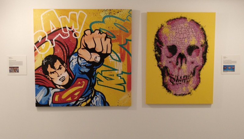 Until 30th June, Arte urbano, Leyendas callejeras, urban art exhibition at the Muram museum in Cartagena