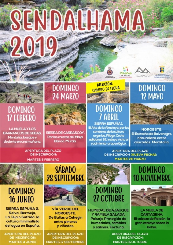 <span style='color:#780948'>ARCHIVED</span> - 25th to 31st March; What's on in Alhama de Murcia