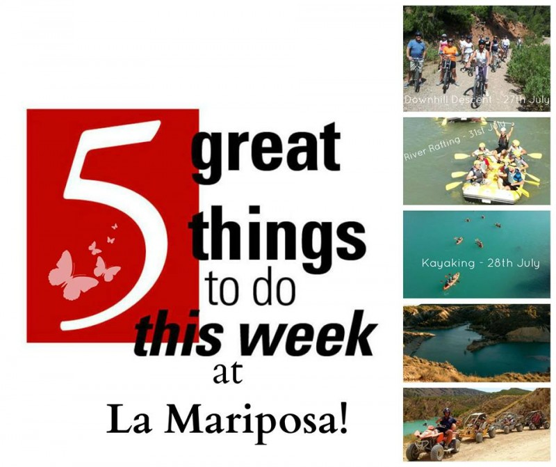 25th to 31st March; What's on in Alhama de Murcia