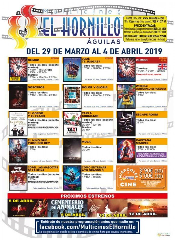 Murcia Today 2nd April English Language Cinema At The Multicines