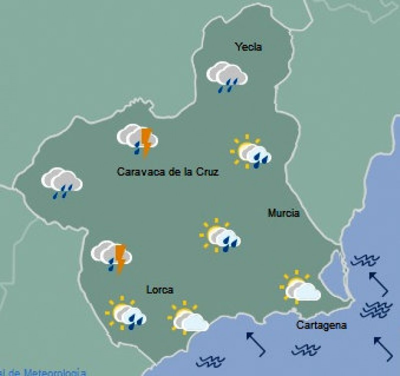 <span style='color:#780948'>ARCHIVED</span> - Rain at last in the Region of Murcia!