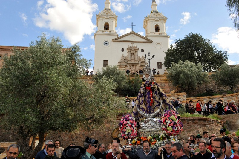 17th September 2019 Romería of the Virgen de la Fuensanta in Murcia City
