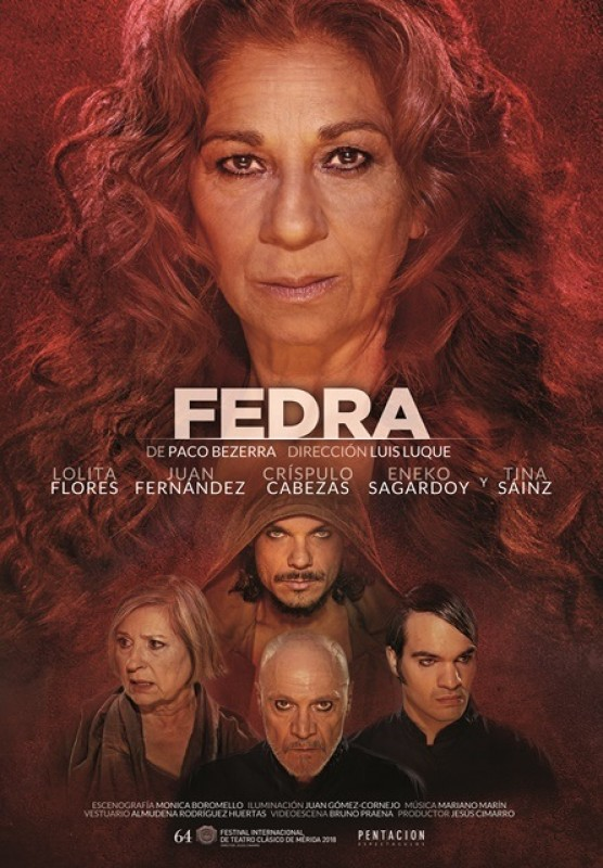 Friday 3rd May Spanish language theatre in Águilas: Fedra