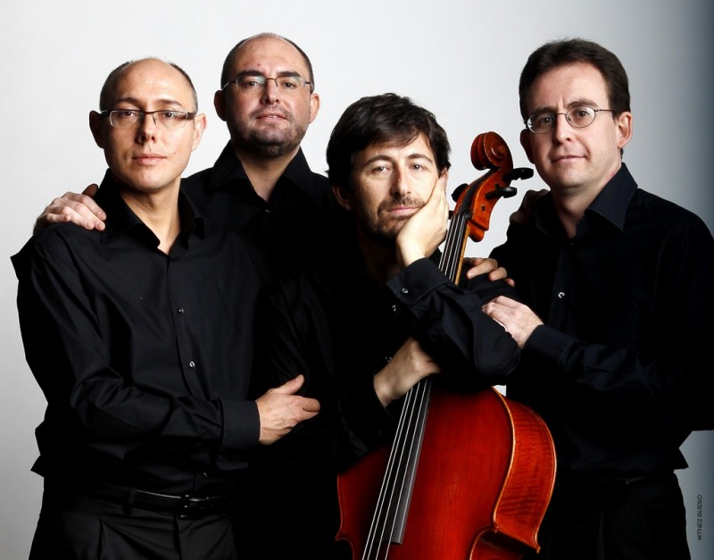 <span style='color:#780948'>ARCHIVED</span> - Tuesday 16th April: The Saravasti Quartet perform Haydn's  The Seven Last Words of Christ on the Cross