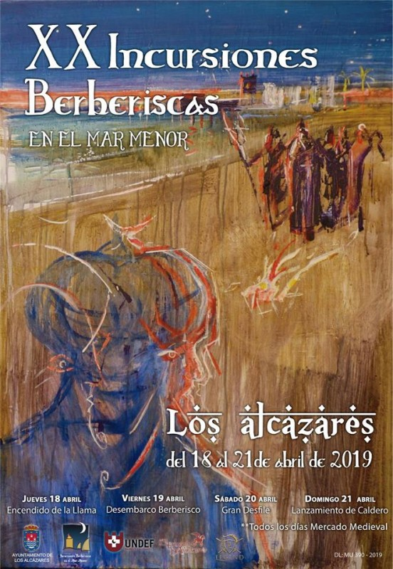 <span style='color:#780948'>ARCHIVED</span> - 18th to 21st April 2019 Berber artisan market and fiestas in Los Alcázares